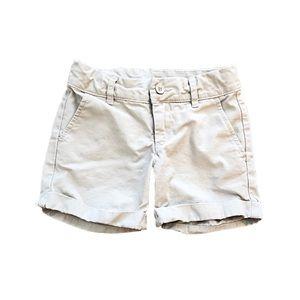 Gap Kids Khaki Shorts Size 5 (Regular)